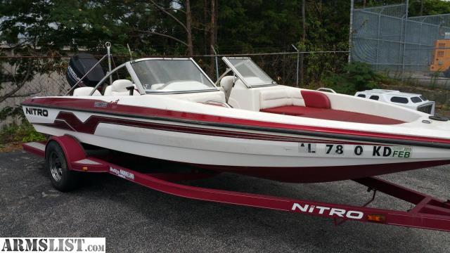 Armslist for sale 1999 nitro fs 205 fish and ski boat for Nitro fish and ski