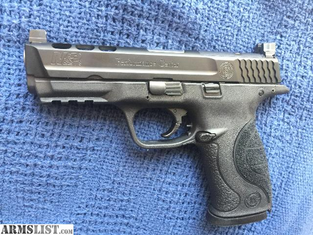 Armslist for sale smith wesson 9mm performance center for M p ported core 9mm