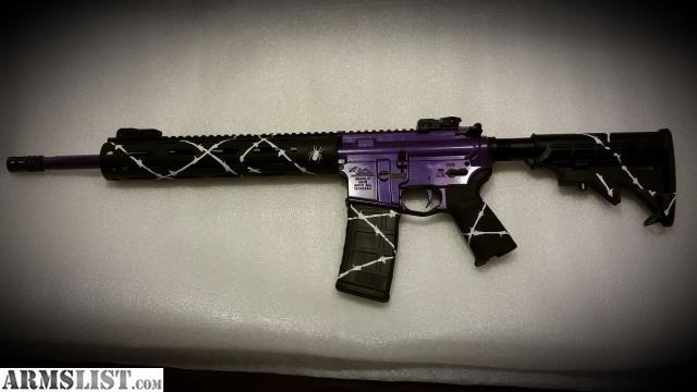 Armslist For Sale Trade Custom Ar 15 Goddess Purple