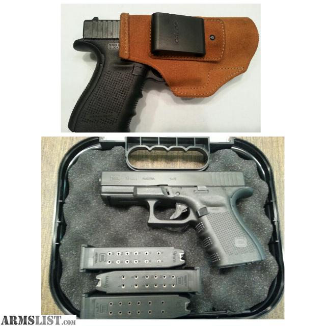 armslist for sale glock 19 gen 4 wiwb holster