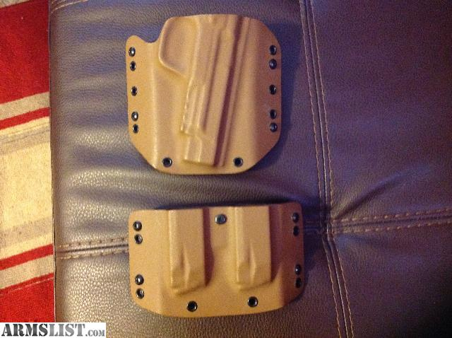 ARMSLIST - For Sale: Black dog concealment kydex holster and mag ...