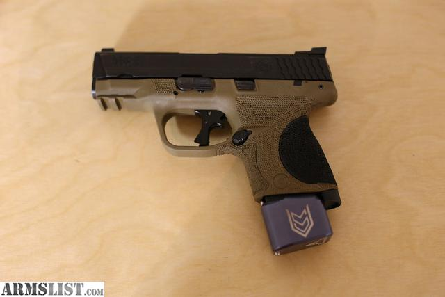 For Sale/Trade: S&W M&P 9c FDE W Extras