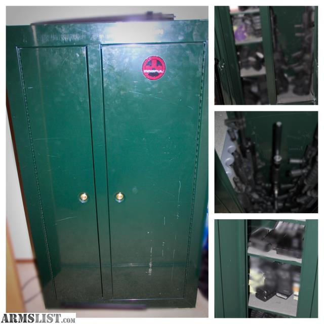 Armslist for sale stack on gun double door security cabinet for 10 gun double door steel security cabinet