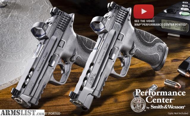 Armslist for sale s w performance center m p9l c o r e for M p ported core 9mm
