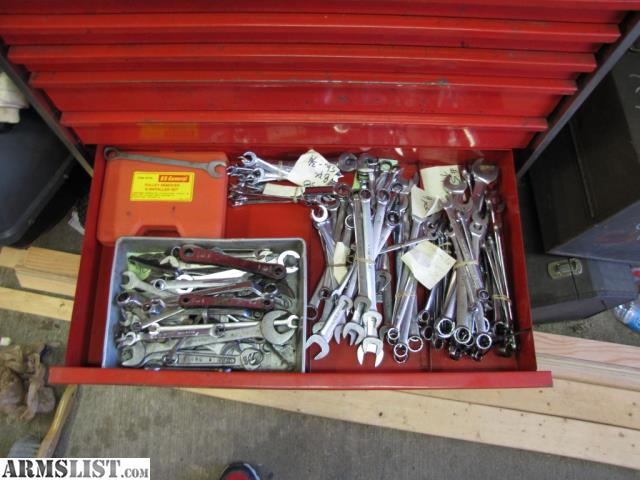 armslist  trade  snap on toolbox filled with tools