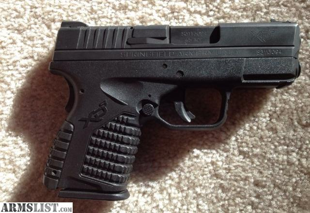 Springfield xds case slots