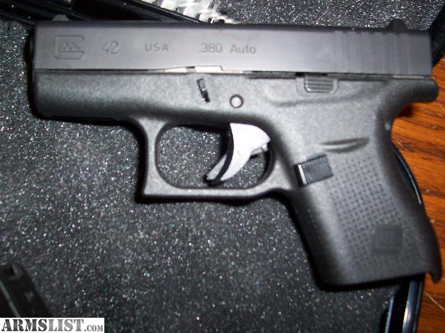 ARMSLIST - For Sale: glock model 42