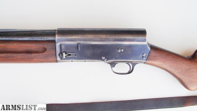 Armslist For Sale Pre Wwii Fn Belgium Browning A5 Shotgun