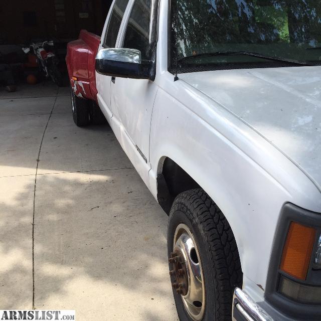 1997 Chevy 3500: Custom 1997 Chevy Silverado 3500 LT Dually