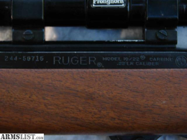 how to clean and oil a ruger 10 22