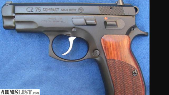 Armslist For Trade Cz 75 Compact W Wood Grips