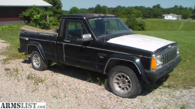 armslist for sale 1988 jeep comanche 4x4. Black Bedroom Furniture Sets. Home Design Ideas