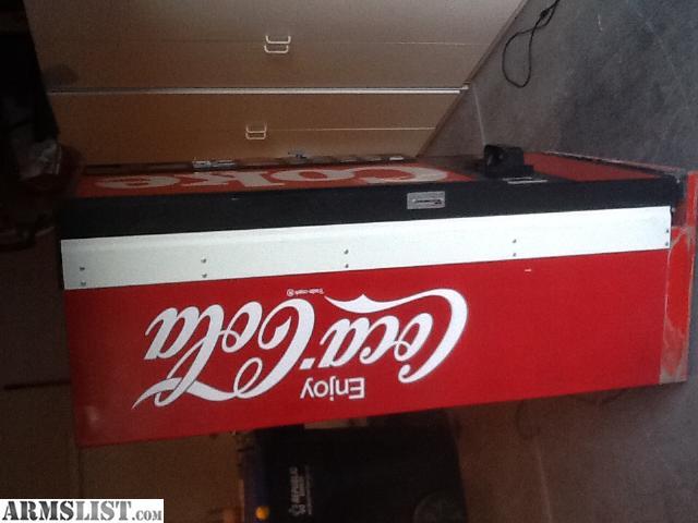coke machine gun safe for sale
