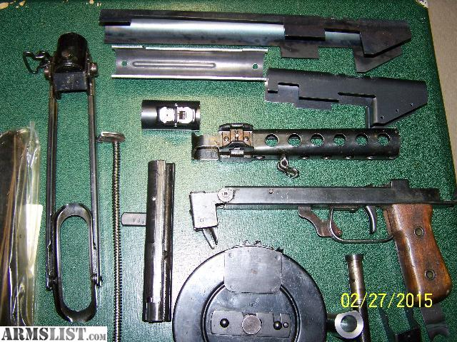 Auto Parts Eugene >> ARMSLIST - For Sale: Smg parts kits kp44 pps43 parts to build