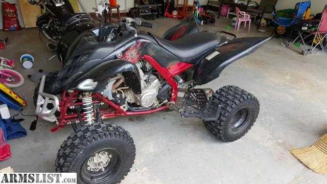 Armslist for sale trade 2008 yamaha raptor 700r fuel for Yamaha raptor 700r for sale