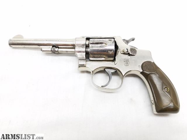 smith and wesson 32 revolver serial number database