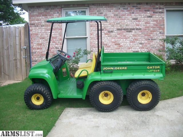 armslist for sale 2002 john deere 6x4 gator with 4 wheel drive. Black Bedroom Furniture Sets. Home Design Ideas