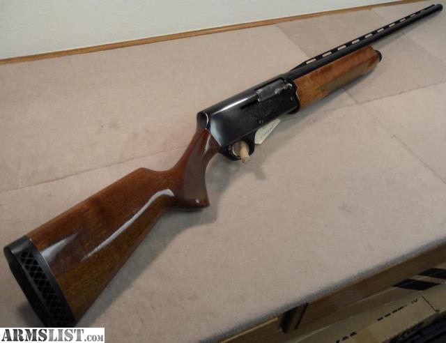 Rogers Auto Sales >> ARMSLIST - For Sale: Browning A500 12 gauge Semi-auto shotgun