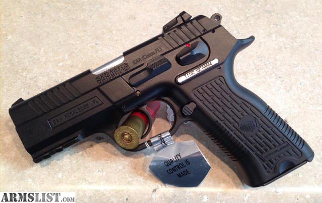 For Sale: NEW EAA SAR Arms K2P 9mm Pistol 16 Rounds