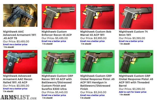 ARMSLIST - For Sale: Nighthawk Custom Best Prices on AAC