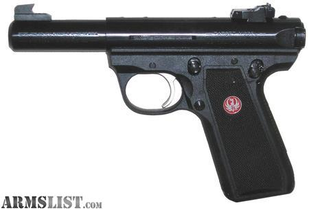 Armslist For Sale Nib Rug 22 45 Target Mark Iii 22