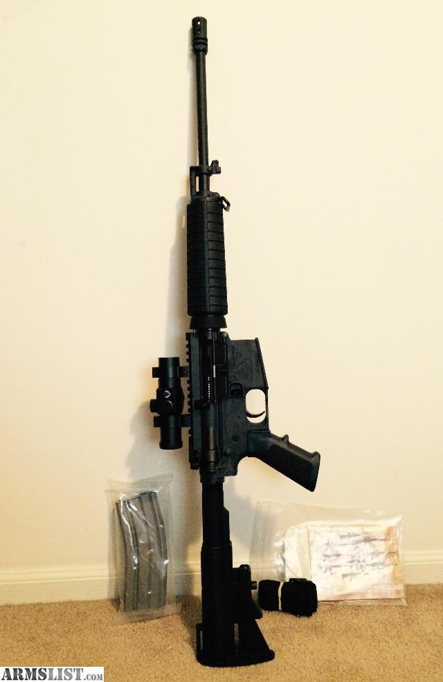 Bushnell Trophy Red Dot Trs 25 3 Moa Red Dot Reticle: For Sale: NEW Bushmaster Carbon AR-15 With