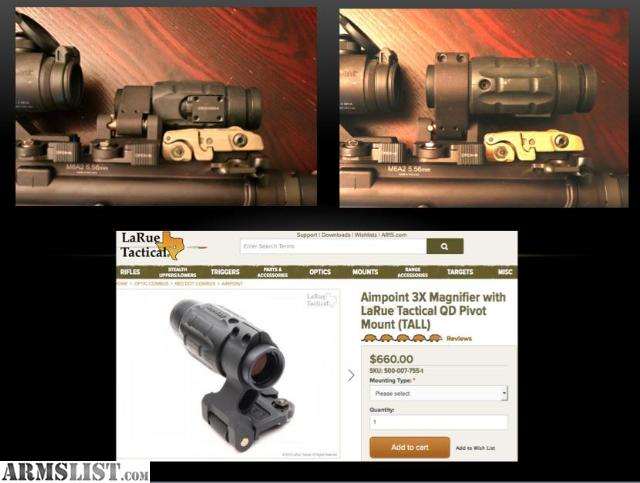 Armslist For Sale Trade Aimpoint 3x Magnifier Amp Larue