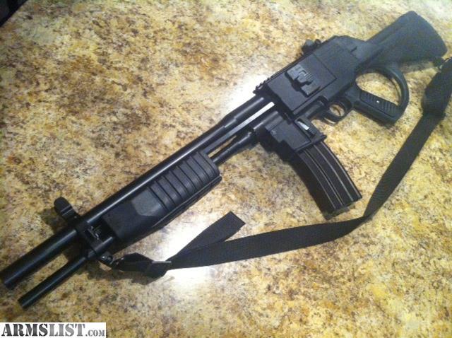 ARMSLIST - For Sale: Crossfire MK1 12ga/223 combination