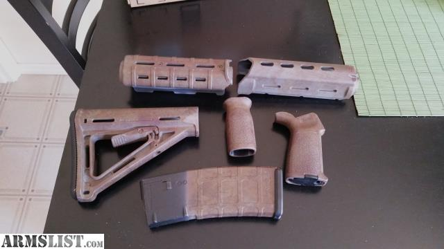 Armslist For Sale Full Magpul Furniture Set Including One 30rd Pmag