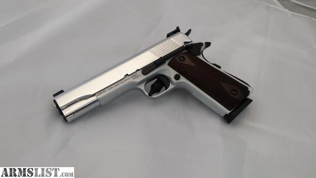 Girsan Mc >> ARMSLIST - For Sale: Girsan MC 1911 45 ACP Chrome - Modified Trigger & Sites