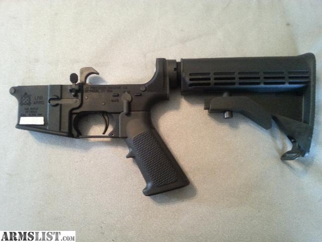 LRB Arms AR15 Complete lower 5.56 NEW for sale