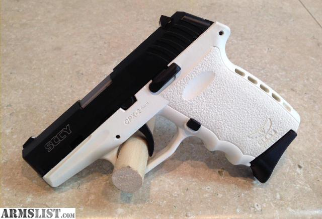 armslist for sale new white sccy cpx 2 9mm pistol 2 magazines