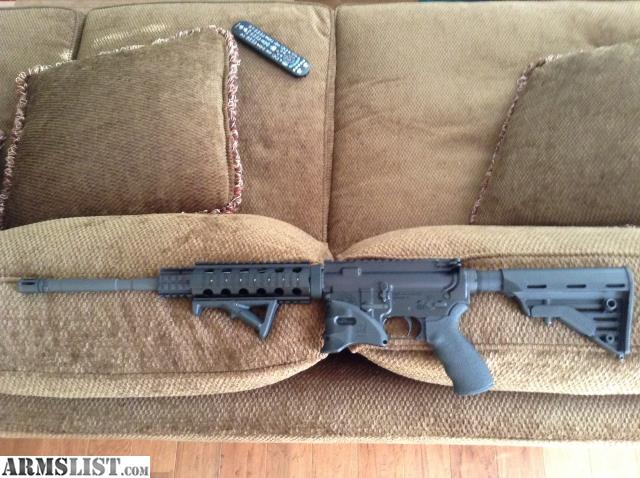 For Trade: AR 15 (556 NATO With Blackhawk Furniture)