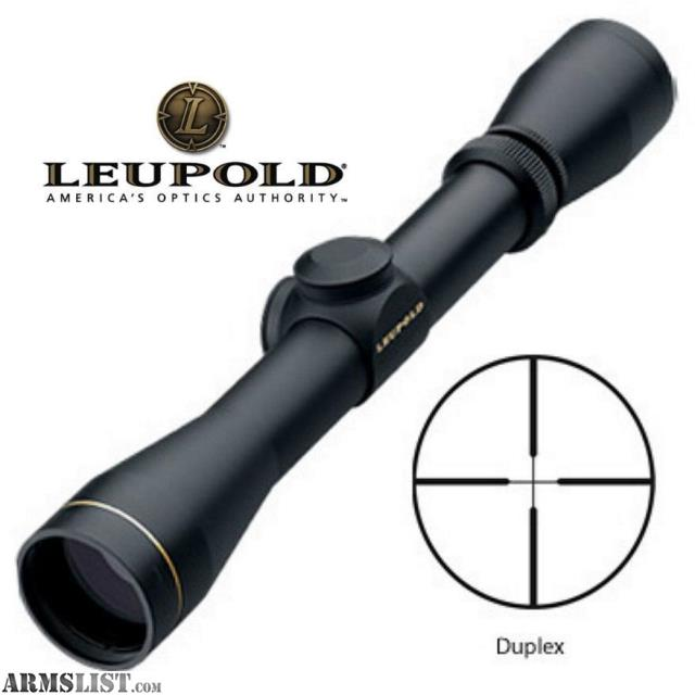 Armslist For Sale Nib Leupold Vx 1 3 9x40 Mm Matte