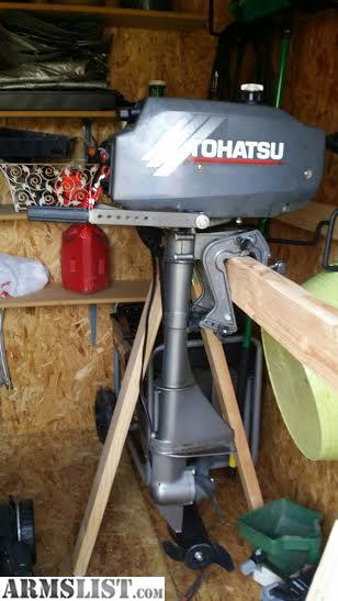 Armslist for sale trade 3 5 hp nissan tohatsu 2 stroke for 5hp outboard motor for sale