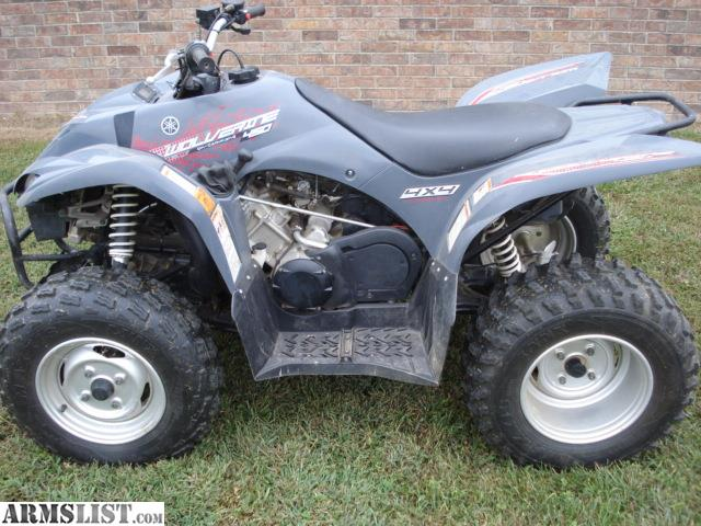 Armslist for sale 2007 yamaha wolverine 450 4x4 for Yamaha wolverine 450 for sale