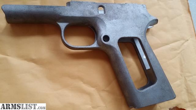 ARMSLIST - For Sale: 1911 Steel 80 percent 80% frame