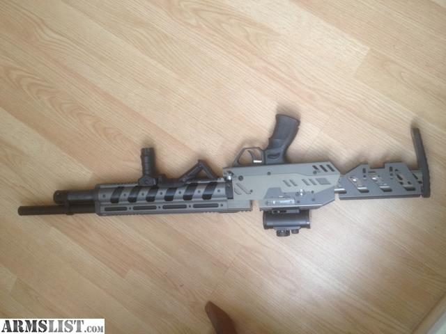 Evanix Conquest Speed Semi Auto Pcp Air Rifle: For Sale: Evanix GTK-290 Pre-charged 9mm Semi