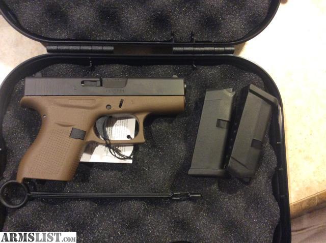 ARMSLIST - For Sale: Glock 42 FDE