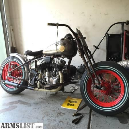 ARMSLIST - For Sale/Trade: 1954 Harley Davidson Flathead Bobber G Series