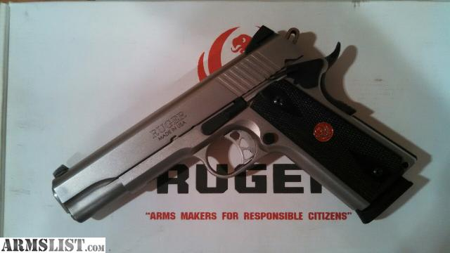 Armslist For Sale Trade Ruger Sr1911 45 Acp With Extra
