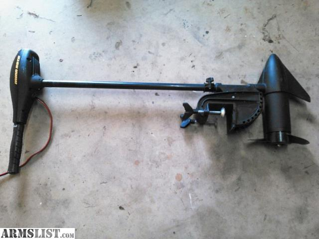 Armslist for sale trade minn kota 55 lb thrust trolling for 10 lb thrust trolling motor