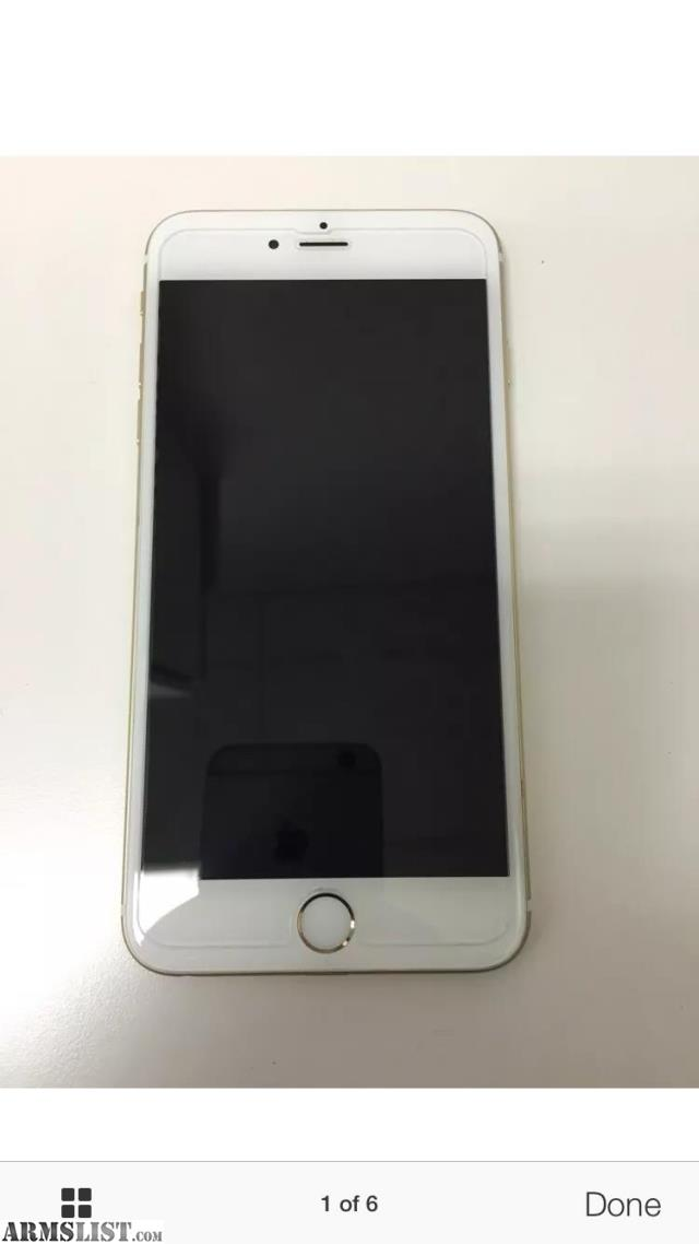 iphone 6 plus for sale armslist for iphone 6 plus gold 17555