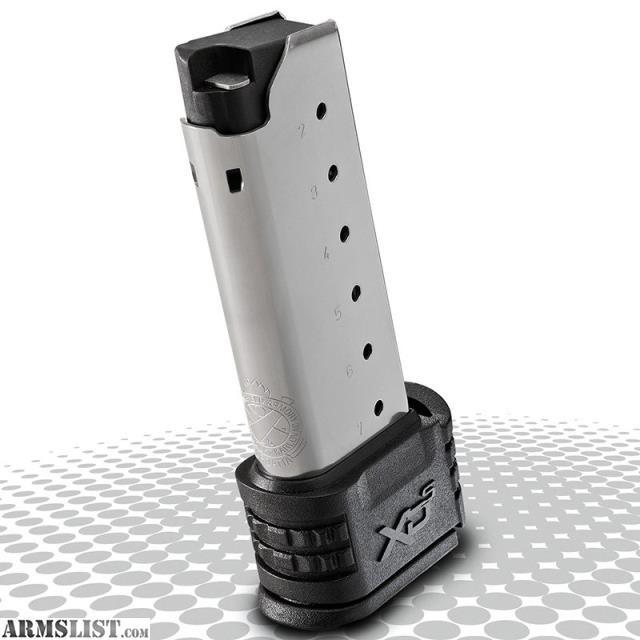 ARMSLIST - For Sale  XDs Extended Magazines  45 ACP 7 RND