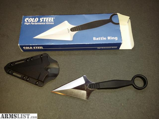 Cold Steel Battle Ring For Sale