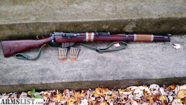 armslist   for sale 1916 lee enfield smle no 1 mk iii