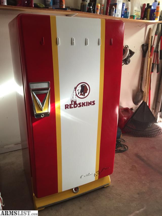 Man Cave Refrigerator Ideas : Armslist for sale trade redskins vintage man cave