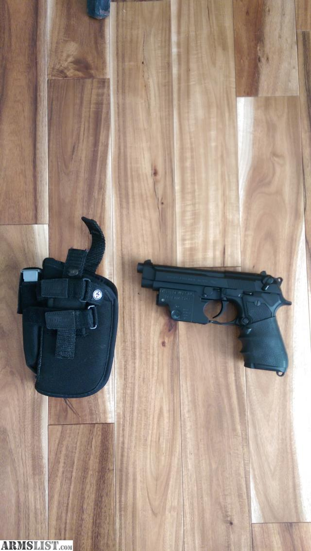 ARMSLIST - For Sale: BERETTA 92 FS WITH LASER SIGHT
