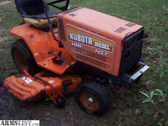 Kubota Lawn Tractor >> Kubota G5200 Lawn Tractor
