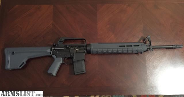Armslist For Sale Ar 15 20 Quot Service Rifle Magpul Furniture